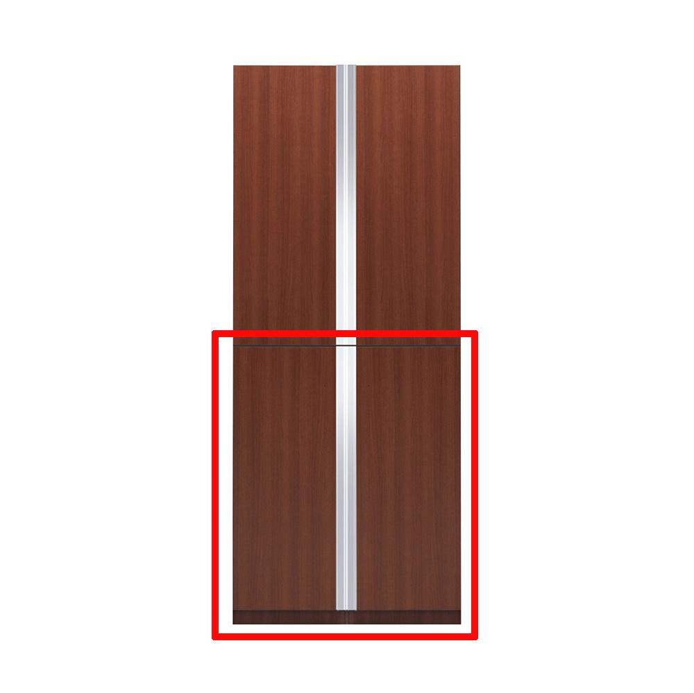【まいどDIY】マイセット S5-90FT プラスワン S5 玄関収納 トールユニット 下台のみ 高さ220cmタイプ 間口90cm 奥行35.8cm [♪▲]
