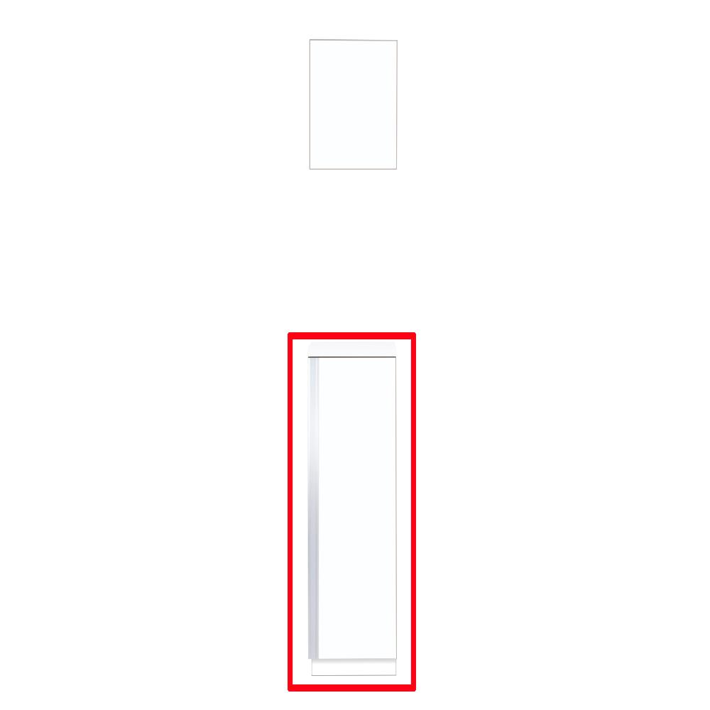 【最安値挑戦中!最大24倍】マイセット Y3-30F ベーシック Y3 玄関収納 2点組合せタイプ フロアユニットのみ 間口30cm 奥行35.8cm [♪▲]