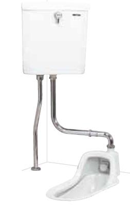 【最安値挑戦中!最大24倍】簡易水洗便器 ネポン ATJ-209C プリティーナ 和式 給水タンク パンタロン方式 ホワイト 寒冷地向 [♪■] 【関東限定】