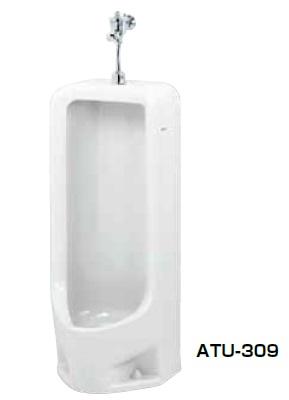 【最安値挑戦中!最大25倍】簡易水洗便器 ネポン ATU-309 プリティーナ 小便器 フラッシュバルブ パンタロン方式 デラックス ホワイト [♪■] 【関東限定】