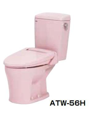 【最安値挑戦中!最大25倍】簡易水洗便器 ネポン ATW-56H プリティーナ エロンゲート 暖房便座 手洗栓なし ピンク [♪■] 【関東限定】