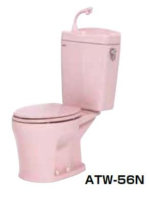 【最安値挑戦中!最大24倍】簡易水洗便器 ネポン ATW-56N プリティーナ エロンゲート 普通便座 手洗栓付 ピンク [♪■] 【関東限定】