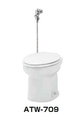 【最安値挑戦中!最大34倍】簡易水洗便器 ネポン ATW-709H プリティーナ レギュラーサイズ 暖房便座 フラッシュバルブ オートフラッパー方式 ホワイト [♪■] 【関東限定】