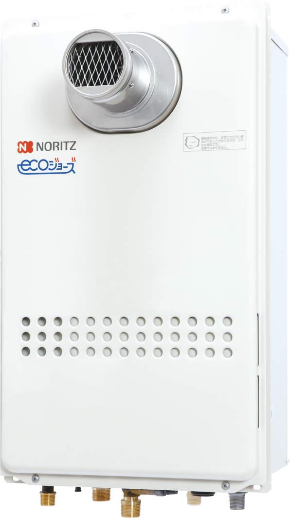 【最安値挑戦中!最大25倍】ガス給湯器 ノーリツ GQ-C1634AWX-T-DX-BL リモコン別売 高温水供給方式 ユコアGQ-C AW クイックオート 16号[♪◎]