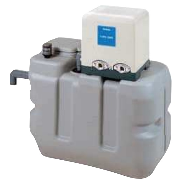 【最安値挑戦中!最大25倍】テラル RMB5-25THP6-156S 受水槽付水道加圧装置(受水槽RMB形+ポンプTHP6形) 500L 単相100V (60Hz用) [♪◇]