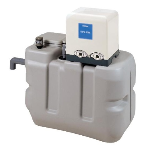 【最安値挑戦中!最大34倍】テラル RMB1-25PG-158AS-5 受水槽付水道加圧装置(PG-AS) 1Φ100V (50Hz用) [♪◇]