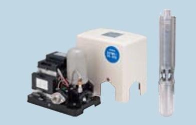 【最安値挑戦中!最大23倍】テラル 25TWS-V0.45S-9(地上部+水中部) 深井戸用水中ポンプユニット インバータ式 TWS-V型 単相100V