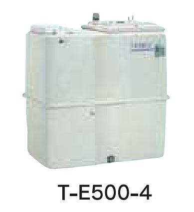 【最安値挑戦中!最大25倍】受水槽 テラル T-E500-4 500L [♪◇]