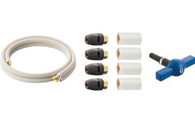 【最安値挑戦中!最大34倍】水栓金具 三栄水栓 T102T-2YS-13AX5-10 ヒートポンプ専用配管セット [□]