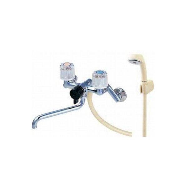 【最安値挑戦中!最大25倍】水栓金具 三栄水栓 CSK111K-13 寒冷地 ツーバルブシャワー混合栓 [□]
