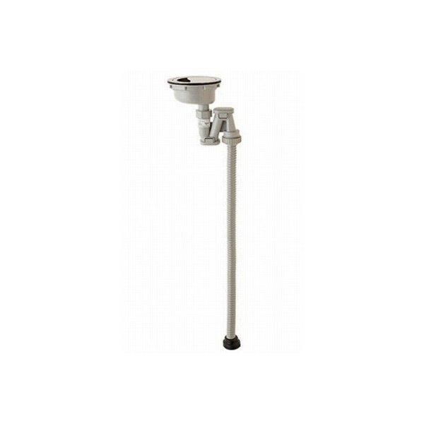 【最安値挑戦中!最大34倍】水栓金具 三栄水栓 H6561S 排水用品 ステンレス排水口トラップ [□]