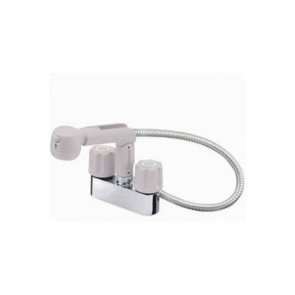 【最安値挑戦中!最大25倍】水栓金具 三栄水栓 K31K-LH-13 寒冷地 ツーバルブスプレー混合栓(洗髪用) [□]
