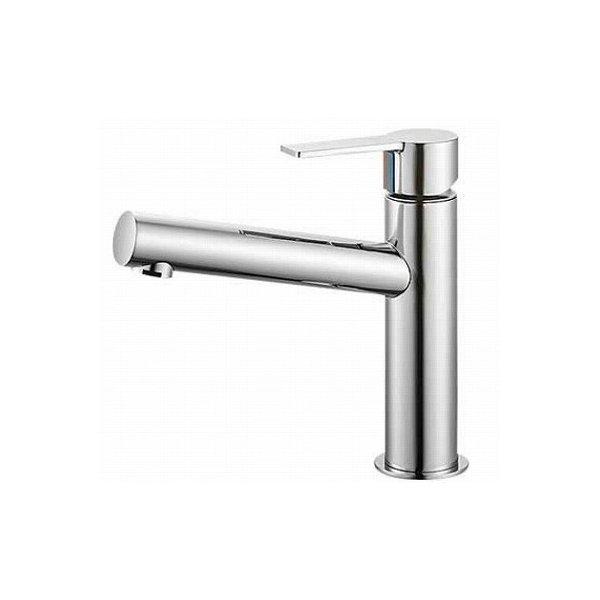 【最安値挑戦中!最大25倍】水栓金具 三栄水栓 K4750NV-13 シングルワンホール洗面混合栓 [□]