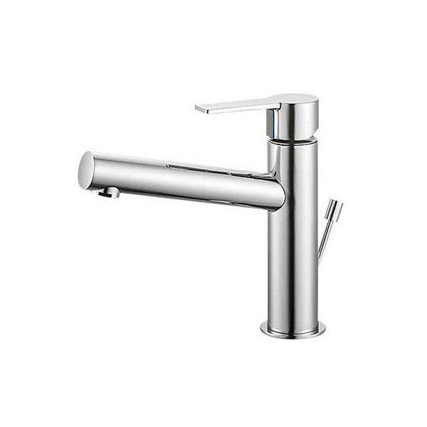 【最安値挑戦中!最大34倍】水栓金具 三栄水栓 K4750PV-13 シングルワンホール洗面混合栓 [□]