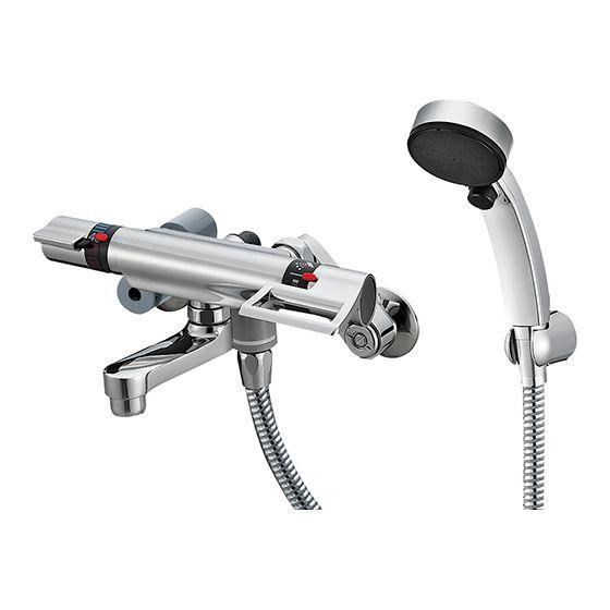 【最安値挑戦中!最大25倍】水栓金具 三栄水栓 SK1813CT5-S-13 サーモシャワー混合栓 [□]