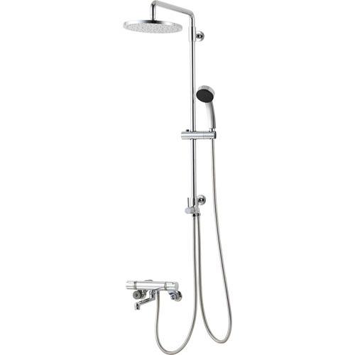 【最安値挑戦中!最大34倍】水栓金具 三栄水栓 SK18520-1S-13 サーモシャワー混合栓(バータイプ) 壁付 [□]