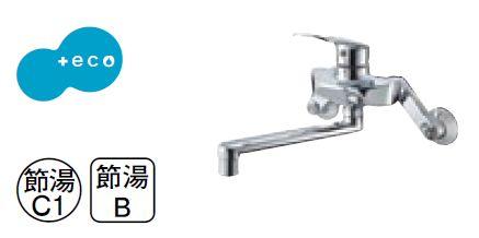 【最安値挑戦中!最大24倍】水栓金具 三栄水栓 K1712E2K-13 シングル混合栓 寒冷地用 [□]