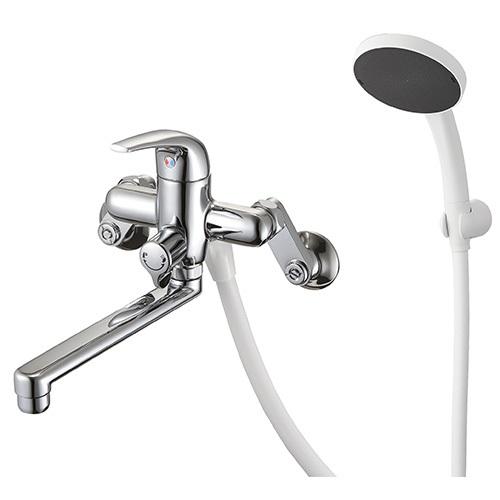 【最安値挑戦中!最大25倍】水栓金具 三栄水栓 SK170S5-13 シングルシャワー混合栓 バスルーム用 節水水栓 [□]