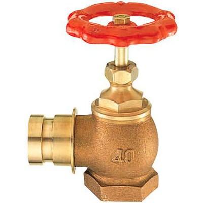 【最安値挑戦中!最大25倍】水栓金具 三栄水栓 V19-65 消火栓 差込90° [□]