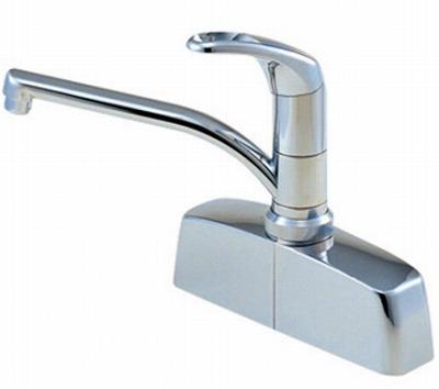 【最安値挑戦中!最大25倍】水栓金具 三栄水栓 CK676-2-13 シングル取替用台付混合栓 [□]