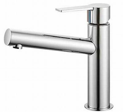 【最安値挑戦中!最大23倍】水栓金具 三栄水栓 K4750NV-13 シングルワンホール洗面混合栓 [□]