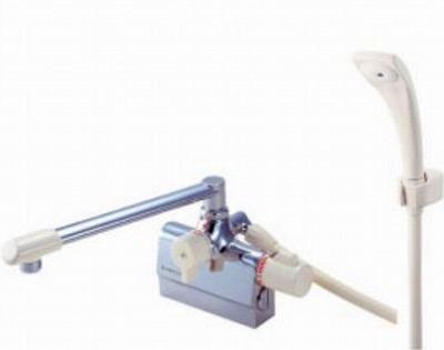 【最安値挑戦中!最大25倍】水栓金具 三栄水栓 SK7800DK-13 寒冷地 サーモデッキシャワー混合栓 [□]