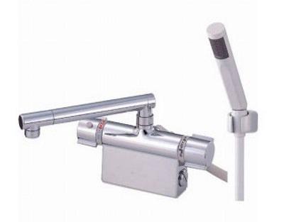 【最安値挑戦中!最大34倍】水栓金具 三栄水栓 SK7850D-13 サーモデッキシャワー混合栓 [□]