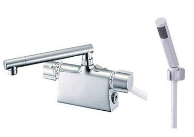 【最安値挑戦中!最大25倍】水栓金具 三栄水栓 SK785D-13 サーモデッキシャワー混合栓 [□]
