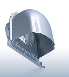 【最安値挑戦中!最大23倍】換気口 西邦工業 CFN200AMS 外壁用ステンレス製換気口 深型フード 金網型3メッシュ 下部開放タイプ [♪■]