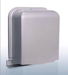 【最安値挑戦中!最大23倍】換気口 西邦工業 GFX125BS 防音型製品 ステンレス製換気口(ワイド水切り付)深型 厚型 ガラリ型 [♪■]