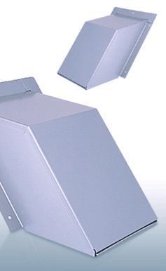【最安値挑戦中!最大23倍】換気口 西邦工業 KH150S 外壁用ステンレス製換気口 セットバックフード 金網型3メッシュ 傾斜角度1:1.25~1:1.5に対応 [♪■]