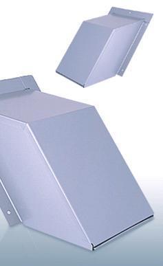 【最安値挑戦中!最大23倍】換気口 西邦工業 KHD200S 外壁用ステンレス製換気口 セットバックフード 金網型3メッシュ 傾斜角度1:1.25~1:1.5に対応 [♪■]
