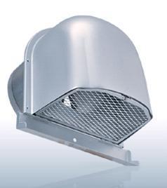 【最安値挑戦中!最大23倍】換気口 西邦工業 CFND200MC 外壁用アルミ製換気口 深型フード(ワイド水切り付)金網型 7x14ラス網 [♪■]