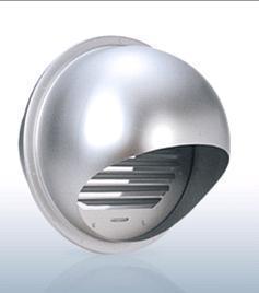 【最安値挑戦中!最大23倍】換気口 西邦工業 SFX300 外壁用アルミ製換気口 セルフード 同芯ガラリ型 [♪■]