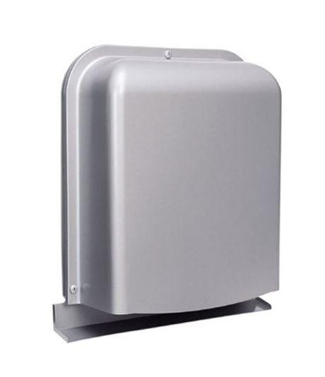 【最安値挑戦中!最大25倍】換気口 西邦工業 GFX175GBS 防音型製品 ステンレス製換気口(ワイド水切り付)深型 薄型 ガラリ型 [♪■]