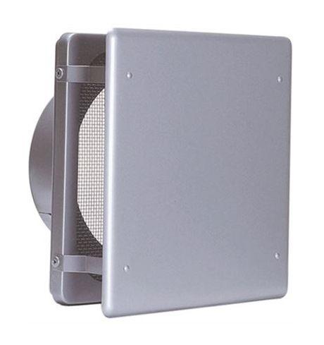 【最安値挑戦中!最大25倍】換気口 西邦工業 KNB225S 外壁用ステンレス製換気口 フラットカバー付換気口 角金網型10メッシュ 低圧損 [♪■]
