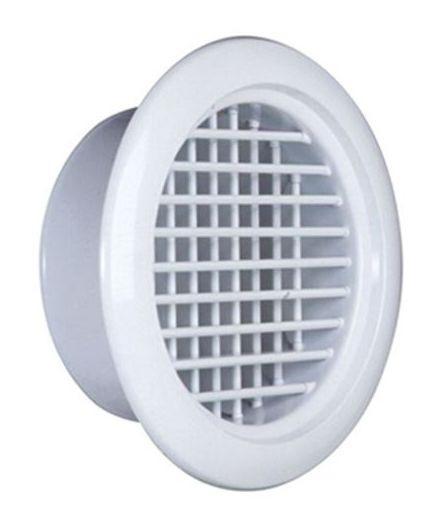 【最安値挑戦中!最大25倍】空調用吹出口 西邦工業 RHV14 アルミニウム製ラウンドレジスター [♪■]