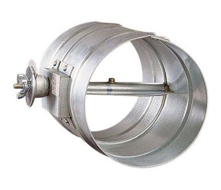 【最大44倍スーパーセール】ダンパー 西邦工業 VD350 風量調整用 鋼板製 フューズ無し ダクト接続型 [♪■]