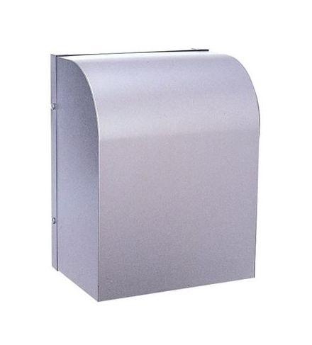 【最安値挑戦中!最大25倍】換気口 西邦工業 WB250S 外壁用ステンレス製換気口 パイプフード 深型角フード 3メッシュ [♪■]