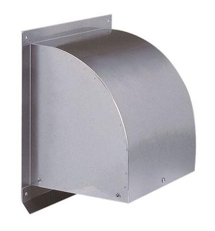 【最安値挑戦中!最大25倍】換気口 西邦工業 WC400S 外壁用ステンレス製換気口 ウエザーカバー 金網型3メッシュ 大口径 [♪■]