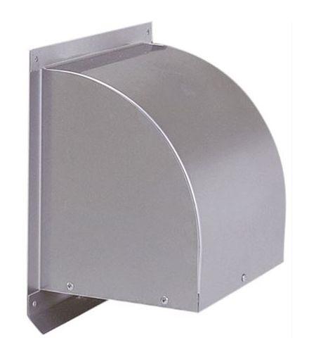 【最安値挑戦中!最大25倍】換気口 西邦工業 WCD650S 外壁用ステンレス製換気口 ウエザーカバー 金網型3メッシュ 大口径 [♪■]