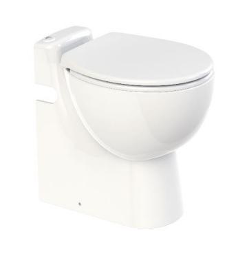 【最安値挑戦中!最大25倍】排水圧送粉砕ポンプ一体型トイレ SFA C11LV-100 サニコンパクトプロ 普通便座モデル [♪■]