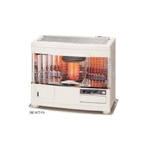 【最安値挑戦中!最大34倍】サンポット 石油暖房機 UFH-6431UKF R(W) 床暖内蔵 FF式 カベック ホワイト [♪■]