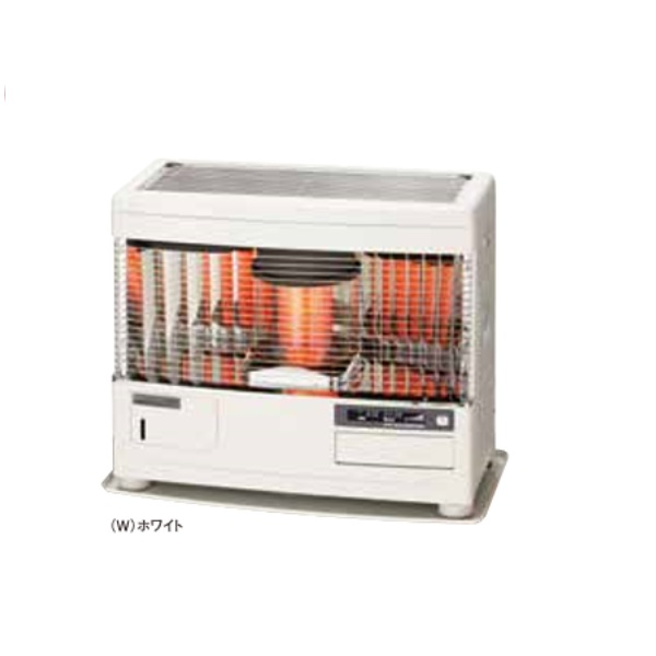 【最安値挑戦中!最大24倍】サンポット 石油暖房機 UFH-6411URF R(W) 床暖内蔵 FF式 カベック ホワイト [♪■]