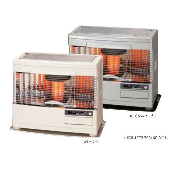【最安値挑戦中!最大24倍】サンポット 石油暖房機 FFR-7031KF R(W) FF式 カベック ホワイト [♪■]