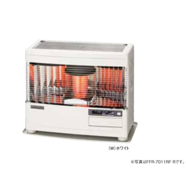 【最安値挑戦中!最大24倍】サンポット 石油暖房機 FFR-7011RF R(W) FF式 カベック ホワイト [♪■]