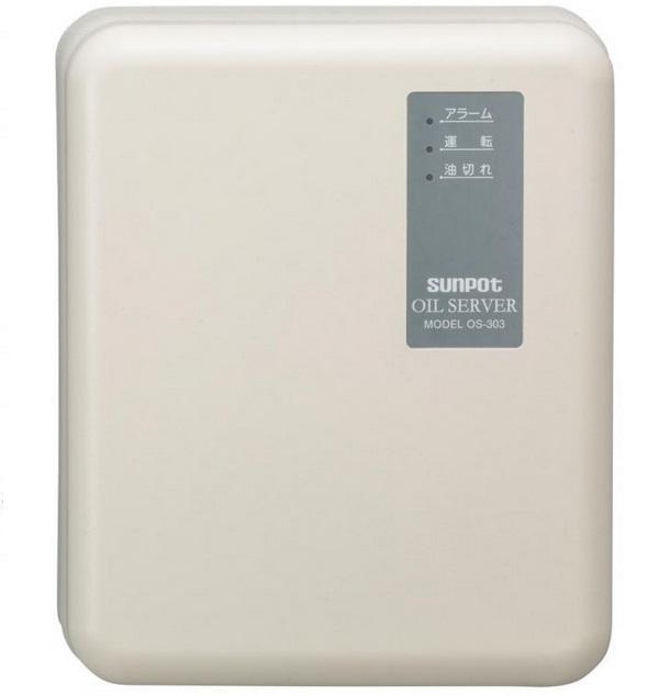 【最安値挑戦中!最大34倍】サンポット 石油暖房機 関連部材 OS-303UP オイルサーバー(灯油自動供給装置)屋外据付タイプ 最高揚程10m 吸い上げ量30L/h [♪■]