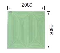【最安値挑戦中!最大33倍】♪■ サンポット ソフトパネル 3畳用(正方形) 【FHP-S6-30】