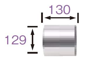 【最安値挑戦中!最大34倍】サンポット 石油暖房機 関連部材 FT-S 給排気筒スペーサー[♪■]