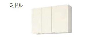 【最安値挑戦中!最大24倍】サンウェーブ GXC-AM-105ZN GXシリーズ 吊戸棚(高さ70cm) 間口105cm ライトウォルナット [♪凹§]